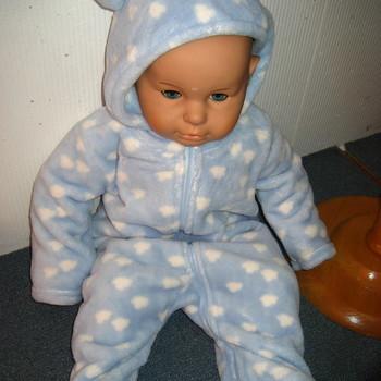 skipantin pour bébé de 3 à 24 mois en polaire tout doux tout chaud - ciel