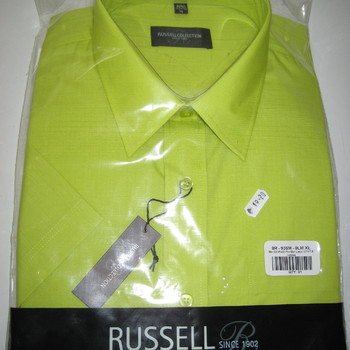 chemise courtes manches en popeline pour homme en différents coloris jusque 4XL