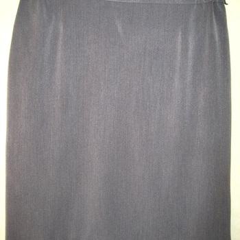 jupe droite avec élastique sur le côté pour dame