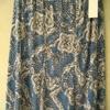 jupe fluide avec taille élastique pour dame