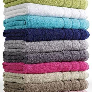 gants de toilette - grand choix dans les coloris - fa : 6 pour 3.20€