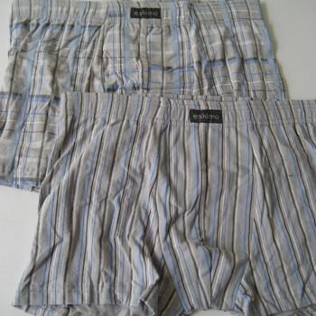 """shorty coton-élasthane """"eskimo"""" pour homme - #   gris-bleu - reste S & M : 2 pour 10.80€"""