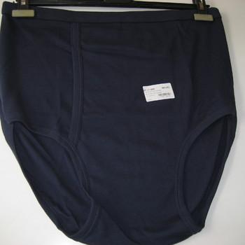 """slip haut coton lourd (interlock) """"stern""""pour homme - grandes tailles à partir de ... - marine"""