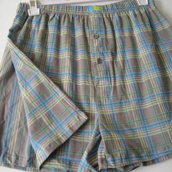 boxer (modèle ample) coton-elasthane pour homme - gris vert jusque 3XL : 2 pour 13.90€