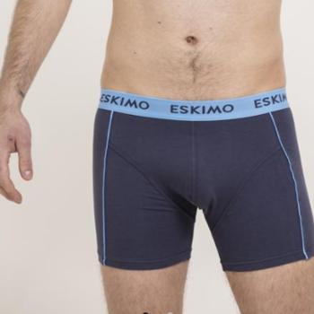"""shorty coton-élasthane """"eskimo"""" duncan pour homme -gris/ciel M - L - XXL - 3XL à partir de"""