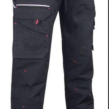 pantalon multipoches noir - basalte
