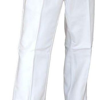 pantalon blanc 100% coton - pinceau
