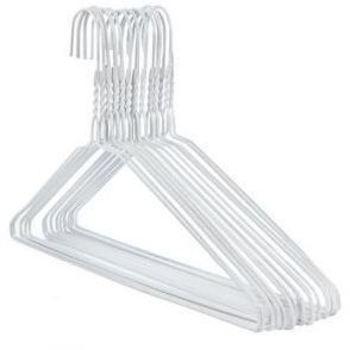 cintre métal blanc par pièce