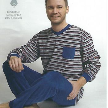 pyjama velours rasé pour homme - == poche