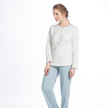 pyjama molletonné pour dame - kalinka aussi en grande taille - jusque 3XL