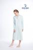 robe de nuit coton jersey pour dame - adalyn - aussi en grandes tailles - saumon S - XL - XXL - 3XL - 4XL - à partir de