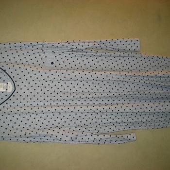 liquette lm coton jersey pour dame - luna - grandes tailles 4XL - pois