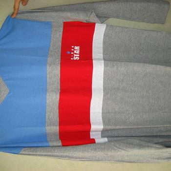 pyjama coton jersey col V pour homme - cambier - marine/rouge - reste XL - XXL