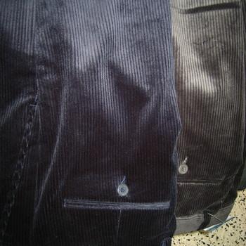 pantalon velours pour homme avec élastique cachée à la taille pour le confort - aussi de grandes tailles - à partir de