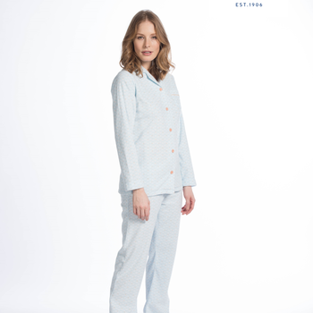 pyjama boutonné polaire pour dame - frosty