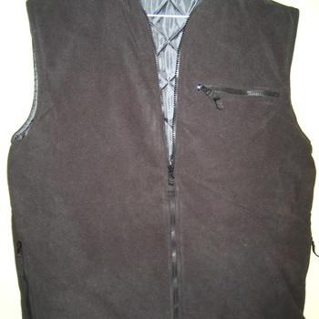 veste sans manches ou bodywarmer polaire doublé pour adulte