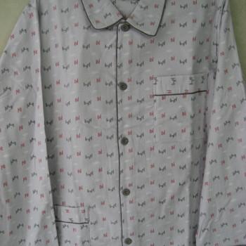 pyjama boutonné flanelle pour homme - cambier