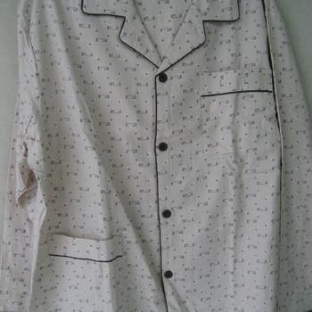 pyjama boutonné croisé molletonné pour homme - cambier