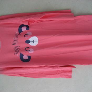 liquette lm coton jersey pour dame - ours - reste L