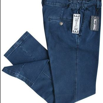 jeans élastique à la taille avec poches revolver pour homme - jusque taille 58 - à partir de
