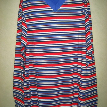 pyjama coton jersey pour homme - bleu/rouge ou orange/marine