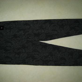 legging pour dame - gris dessin noir - taille 1 à 6
