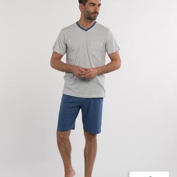 pyjashort coton pour homme - V - barry