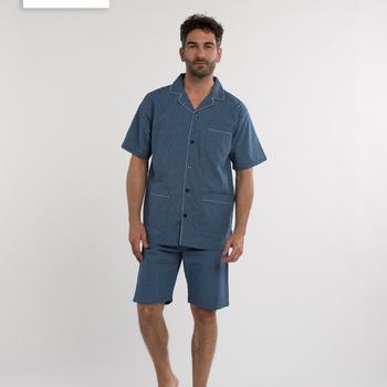 pyjashort boutonné pour homme - eskimo