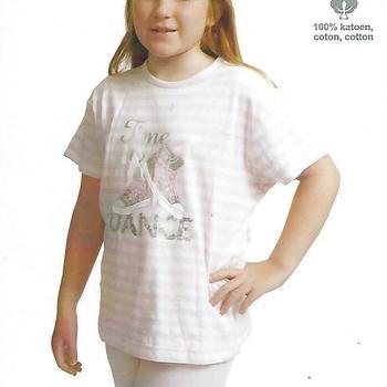 pyjashort coton jersey pour fille de 8 à 16 ans - time by dance