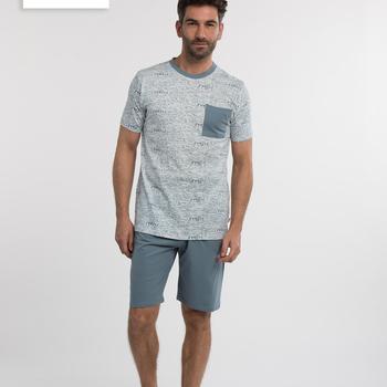 pyjashort pour homme - yves - reste S