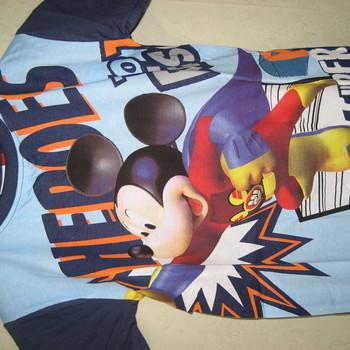 t-shirt mickey en coton pour enfant - marine 5ans