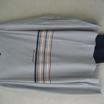 pyjama coton jersey pour homme - yachting - ciel - reste 3XL
