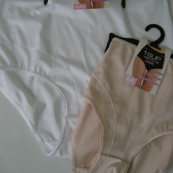 culotte gaine blanche ou beige