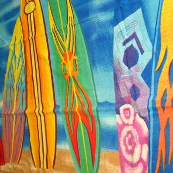 essuie de plage velours imprimé 76*152cm - planches