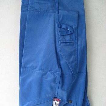 pantalon de travail multipoches bleu luisant (très costaud) en PROMO - reste 44 - 46 - 48