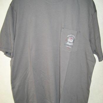 t-shirt courtes manches coton pour homme - grandes tailles - kaki