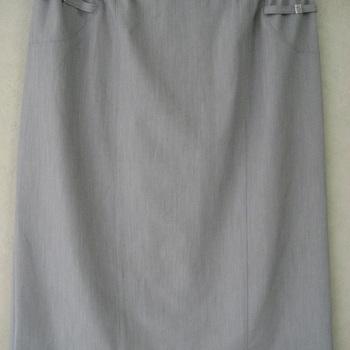 jupe droite doublée taille élastique pour dame 42/44