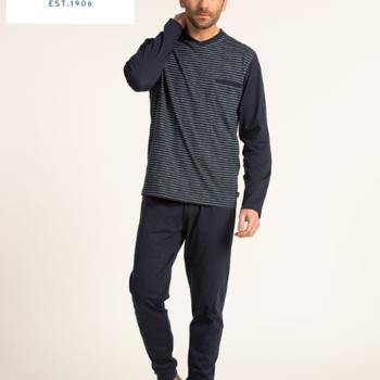pyjama hiver pour homme - grandes tailles - avec V