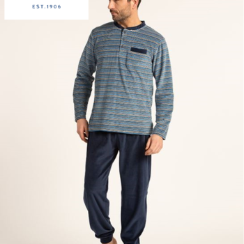 pyjama velours rasé pour homme - roan