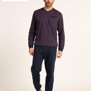pyjama molletonné pour homme - gus - V - aussi de grandes tailles
