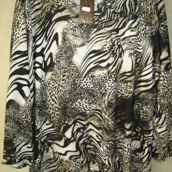 blouse fin tricot PEAU pour dame - grandes tailles