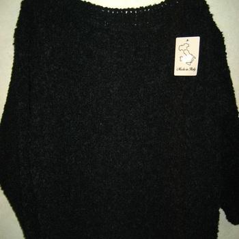 pull gros tricot pour dame grandes tailles rouille ou noir