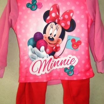 pyjama polaire pour fille minnie rouge rose - reste 2 ans 4 ans 6 ans en PROMO