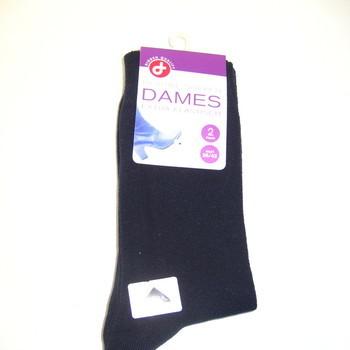 chaussettes avec du coton marine pointure 36/41 - 2 paires pour 2.20€
