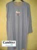 liquette coton jersey - ready to fly - gris : M - L - XL