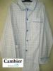 pyjama boutonné flanelle clair pour homme - 2 coloris