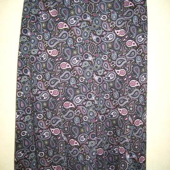 jupe taille élastique motif cashemire