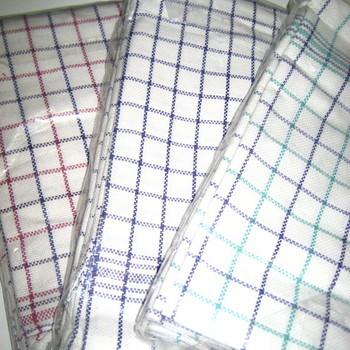 essuies de vaisselle 100% coton windsor 65*65cm - 6 pour 6.80€