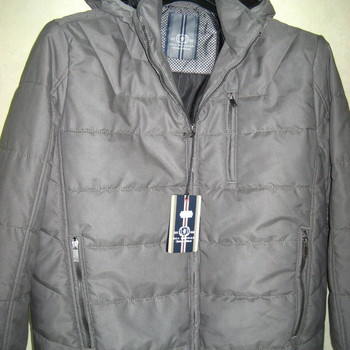 veste hiver grise pour homme - luciano - XXL