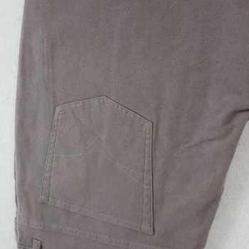pantalon 5 pockets strech velours peau de pêche pour homme - PROMO - beige T58